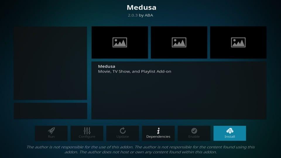 how to install medusa addon on kodi