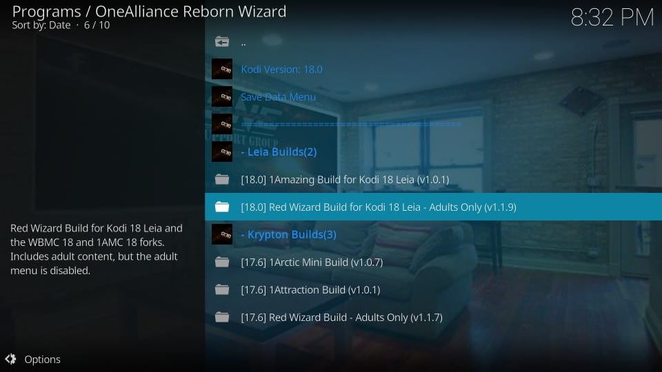 download red wizard build on kodi