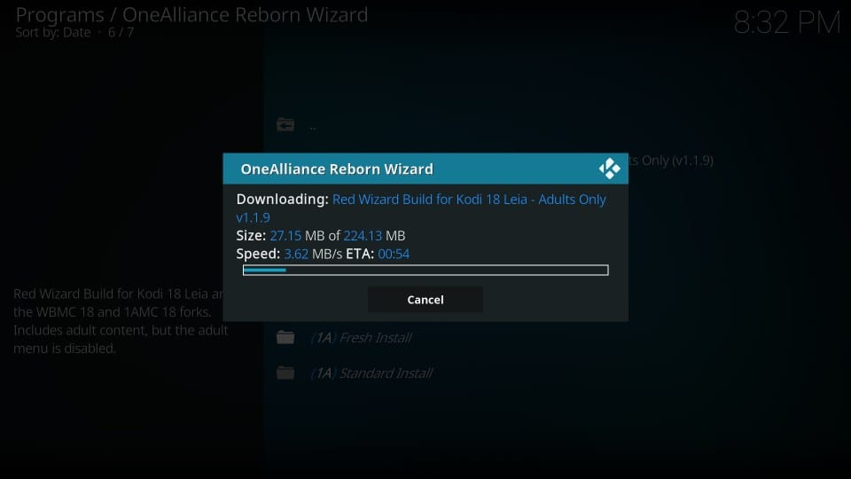 download red wizard build