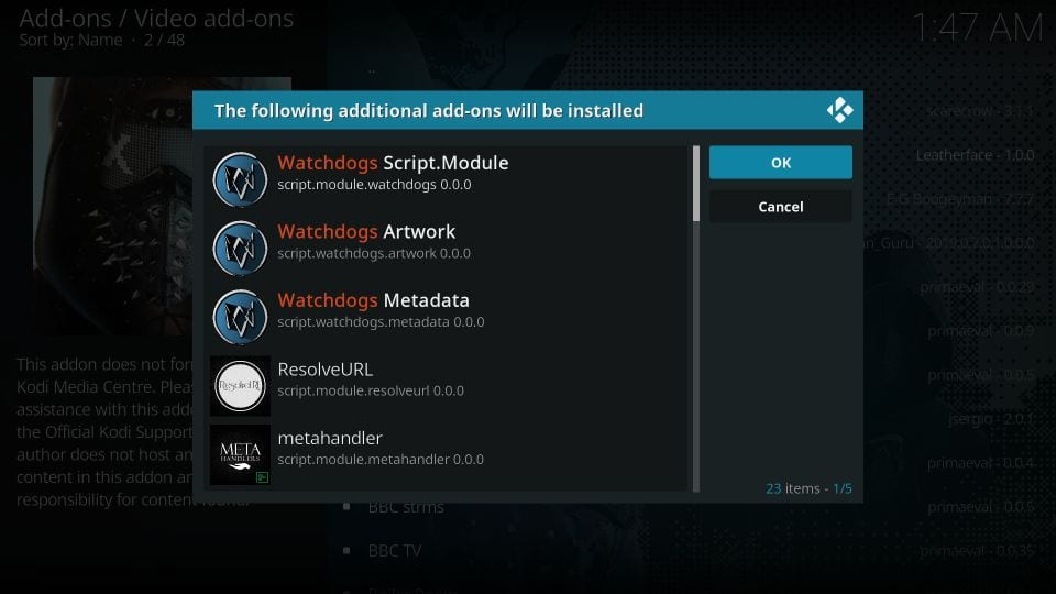 watch dogs addon installation