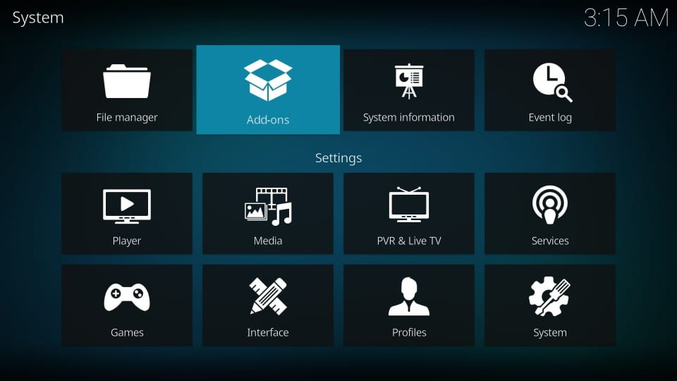 install maverick tv addon on kodi