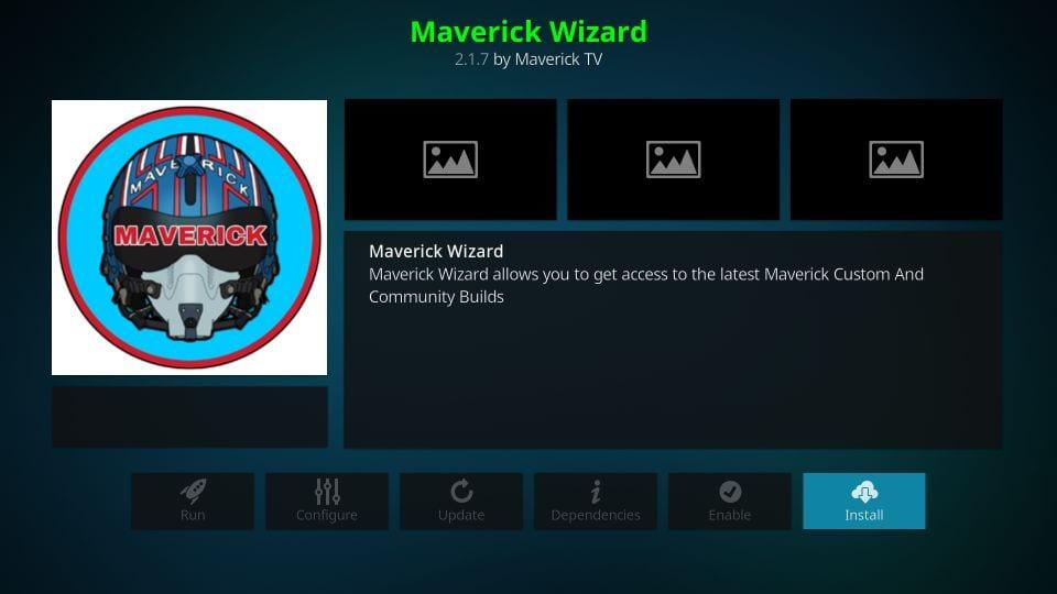 installing maverick wizard