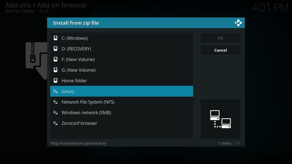 steps to install limitless addon on kodi