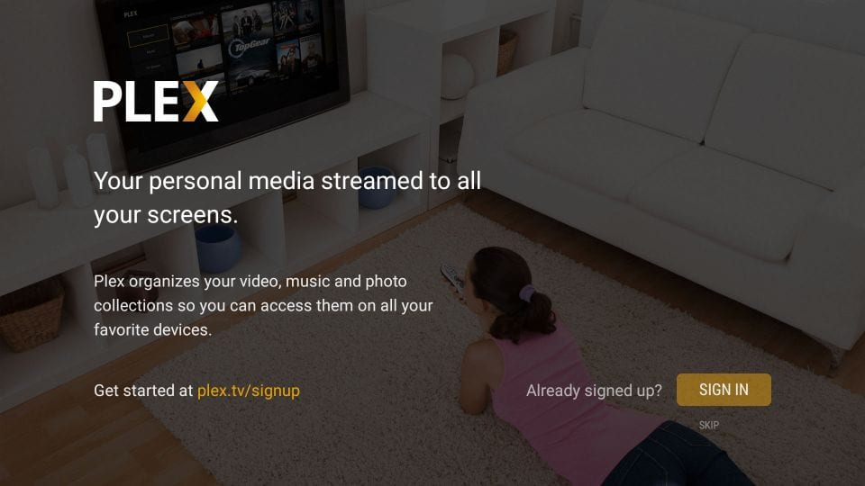 how to use plex on firestick and android tv box