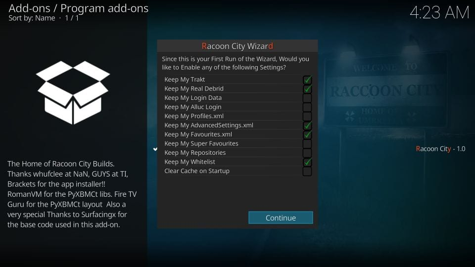 How to Install Racoon City Builds on Kodi Under 5 Minutes