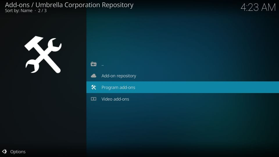 how to install racoon city builds on kodi