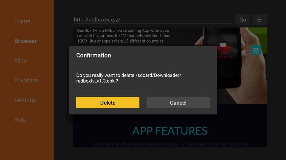redbox tv for amazon fire tv stick