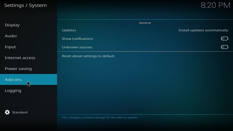 limitless addon on kodi