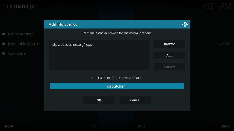 guide to install dabutcher builds on kodi