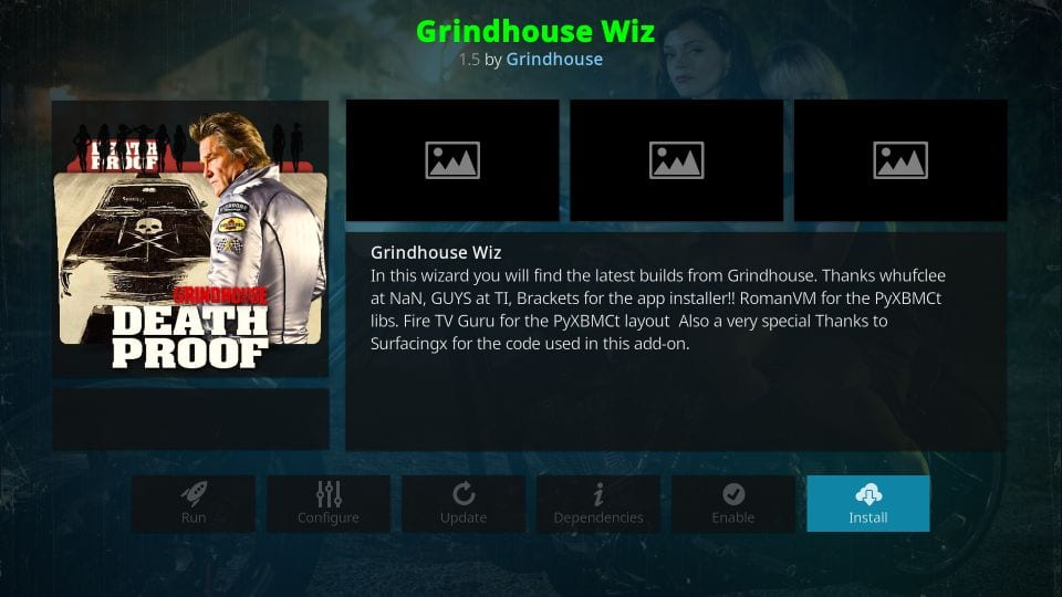 grindhouse kodi wizard