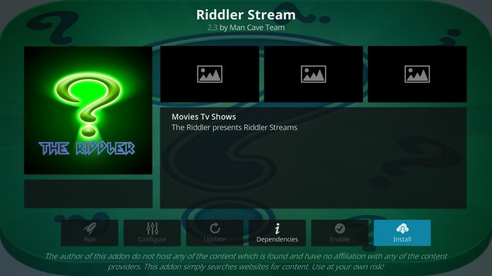 How to Install Riddler Addon on Kodi & FireStick [Step-by