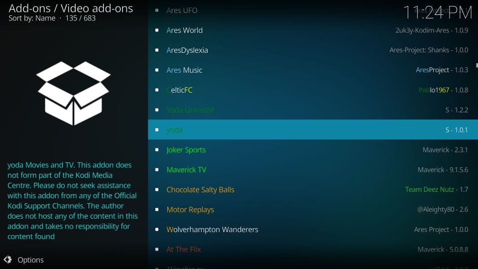 How to Install Yoda Kodi Addon within 2 Minutes (Working 2019)