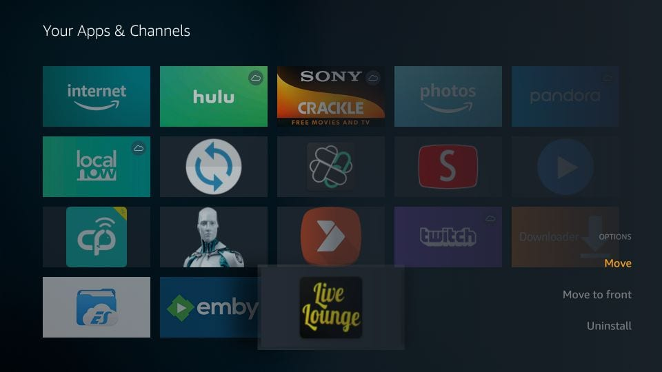 how to install and use live lounge apk on firestick