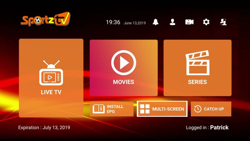 download sportz tv for firestick