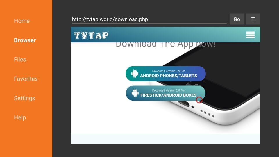 how to install tvtap on firestick