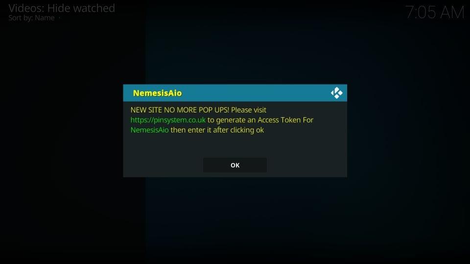 how to use nemesis aio kodi addon