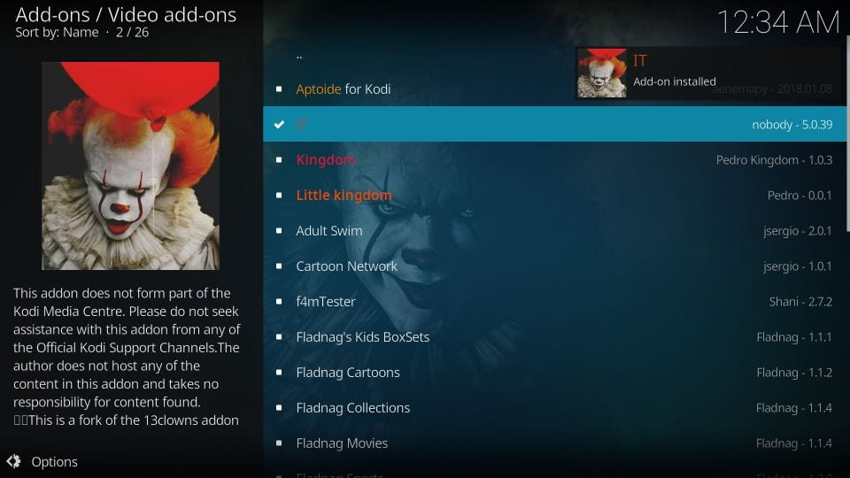 set up it kodi addon by nobody's
