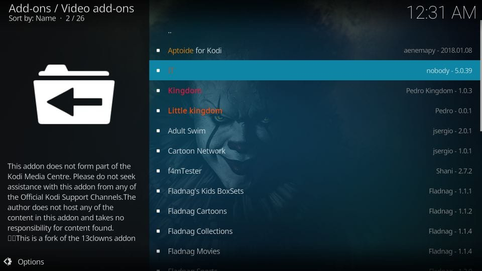 how to use it kodi addon