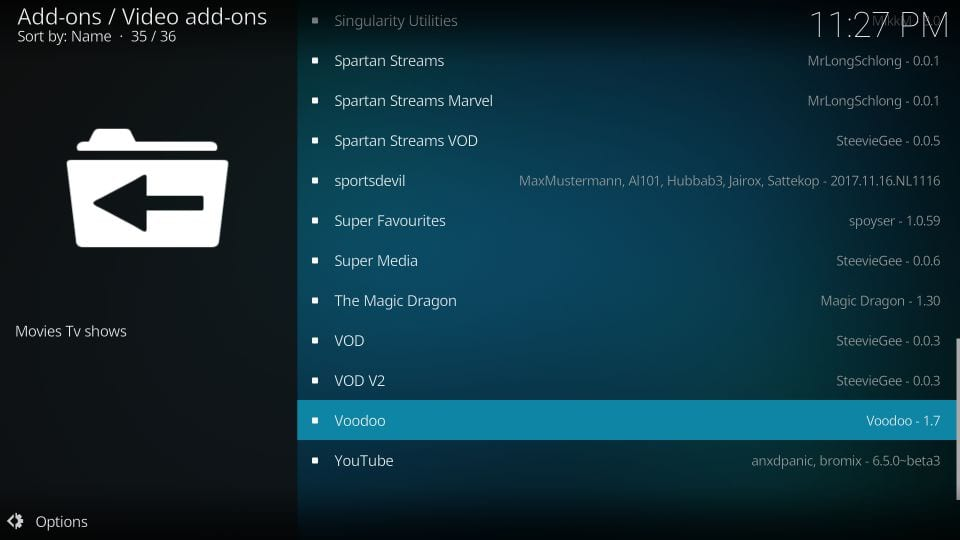 How to Install Voodoo Addon on Kodi / FireStick (Step-by