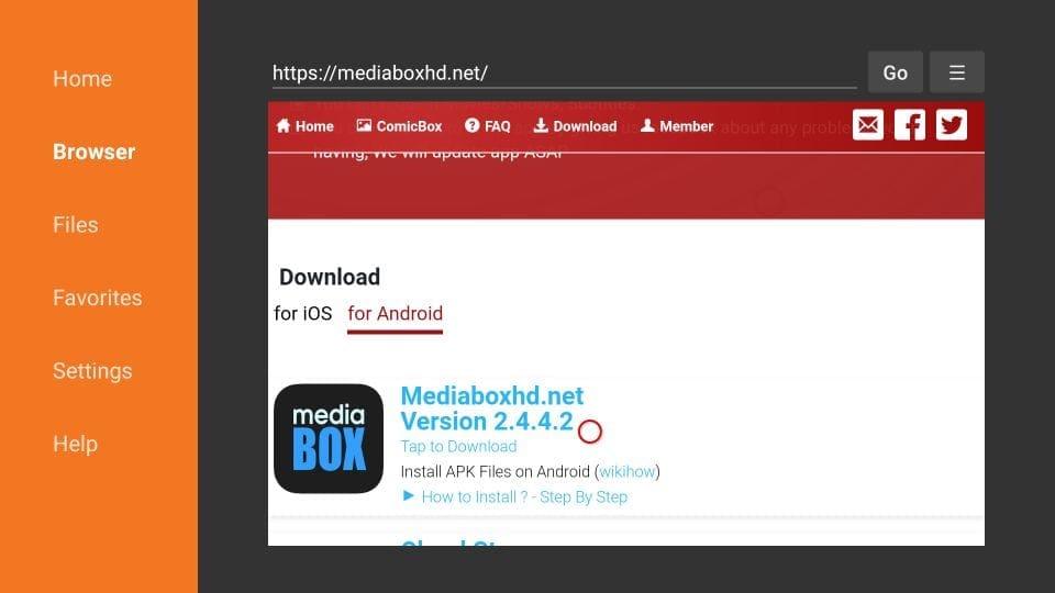 download mediabox hd on firestick
