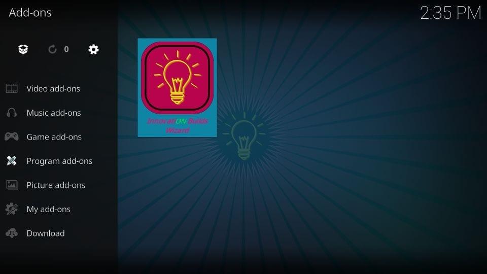 innovation kodi builds