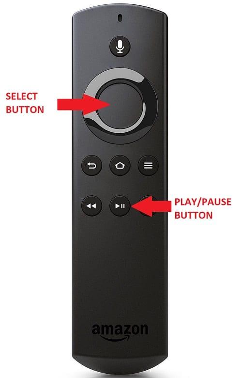remote shortcut for restarting firestick