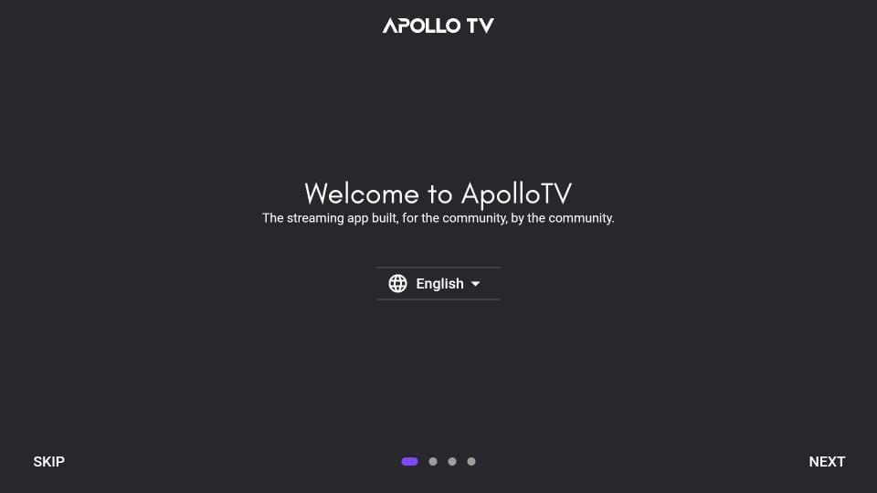 configure apollo tv app for firestick