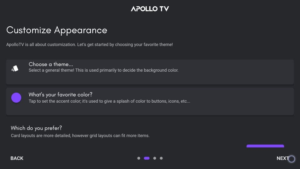 how to use apollo tv on firestick