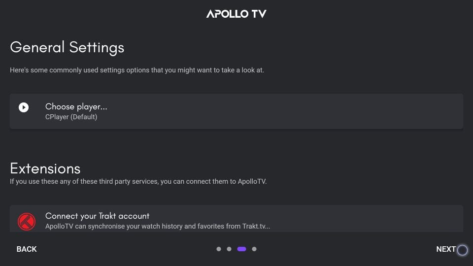 apollo tv navigation on firestick
