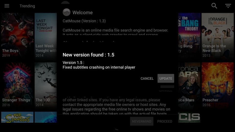 install and use catmouse apk on firestick