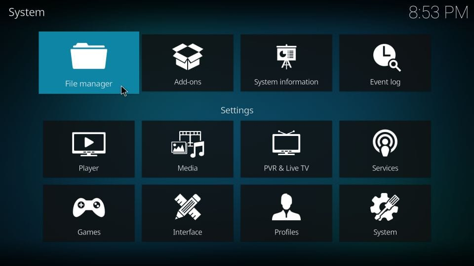install eternal tv kodi addon