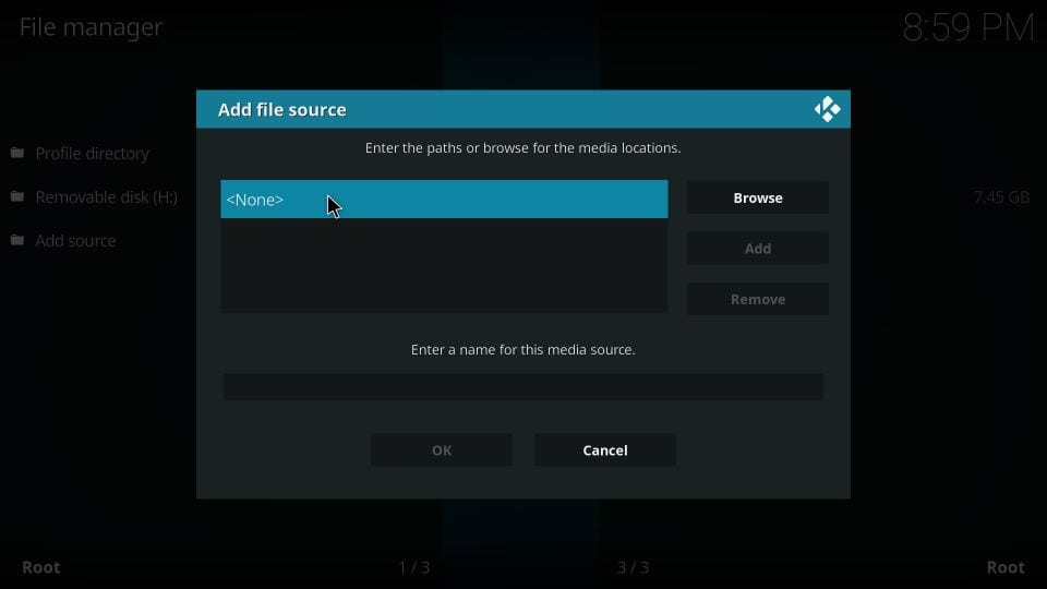 how to install eternal tv addon on kodi