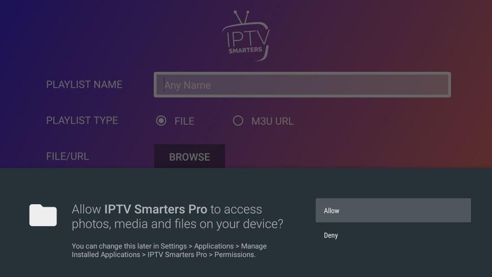 iptv smarters on amazon Firestick