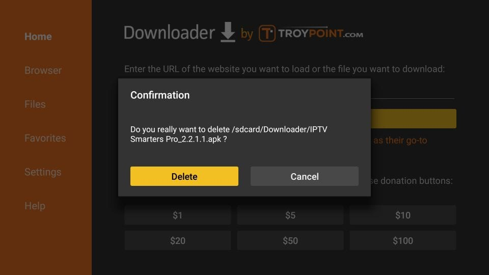 how to install iptv smarters on firestick