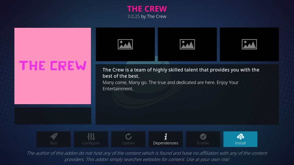 How to Install The Crew Kodi Addon Under 5 Minutes