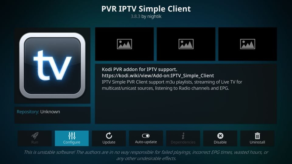How to Install PVR IPTV Simple Client on Kodi