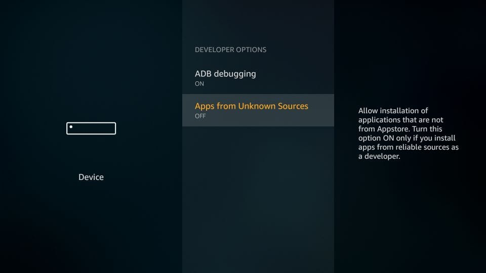 download perfect player apk on Firestick
