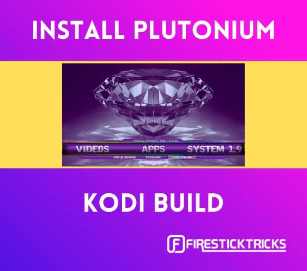 install plutonium kodi build