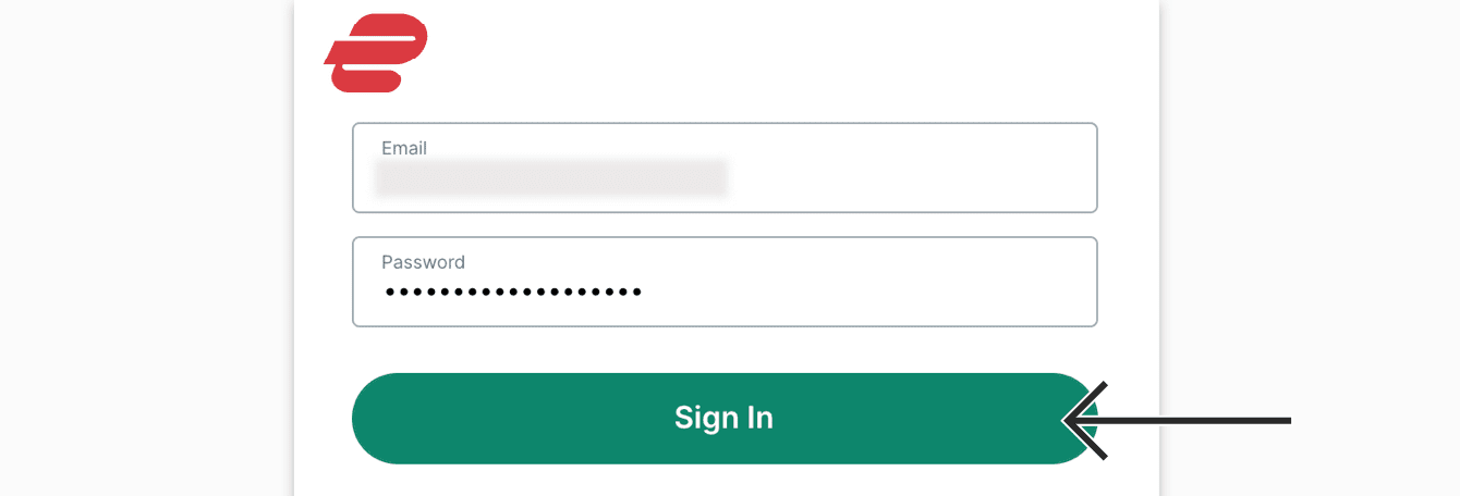 sign in with expressvpn account