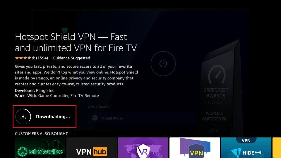 best free vpn for fire tv stick