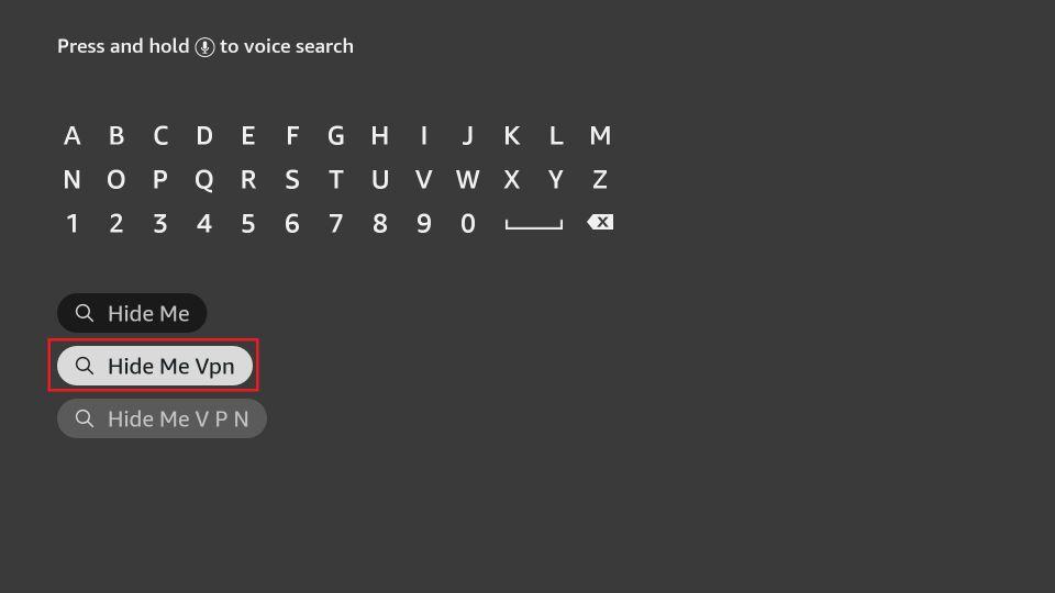 search hideme vpn