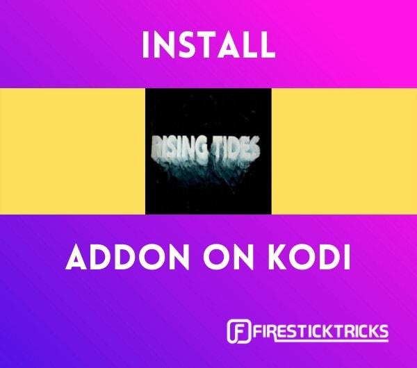 install rising tides kodi addon